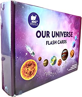 Tnu Toys® Flash Cards For Kids 2 Years & Above, Our Universe Solar System Is Educational Toys For Kids 3 Years, Consist Of...