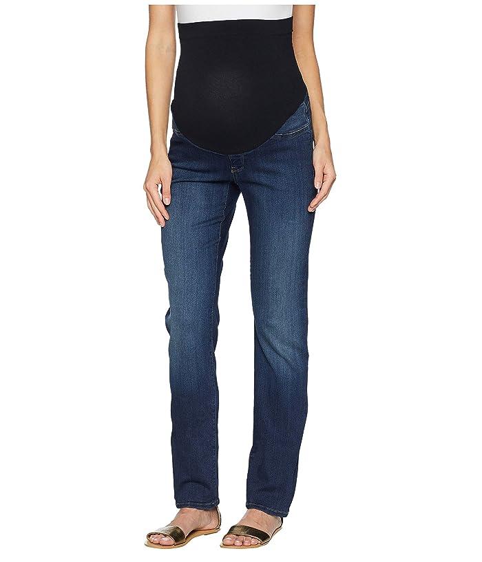 NYDJ Straight Maternity in Big Sur (Big Sur) Women's Jeans