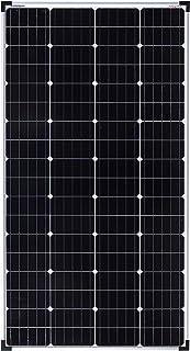 enjoysolar® Mono 150 W 36 V monocristalino panel solar ideal para 24 V jardín caravana PV instalación