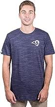 Ultra Game NFL Men's Active Crew Neck Jersey Tee Shirt