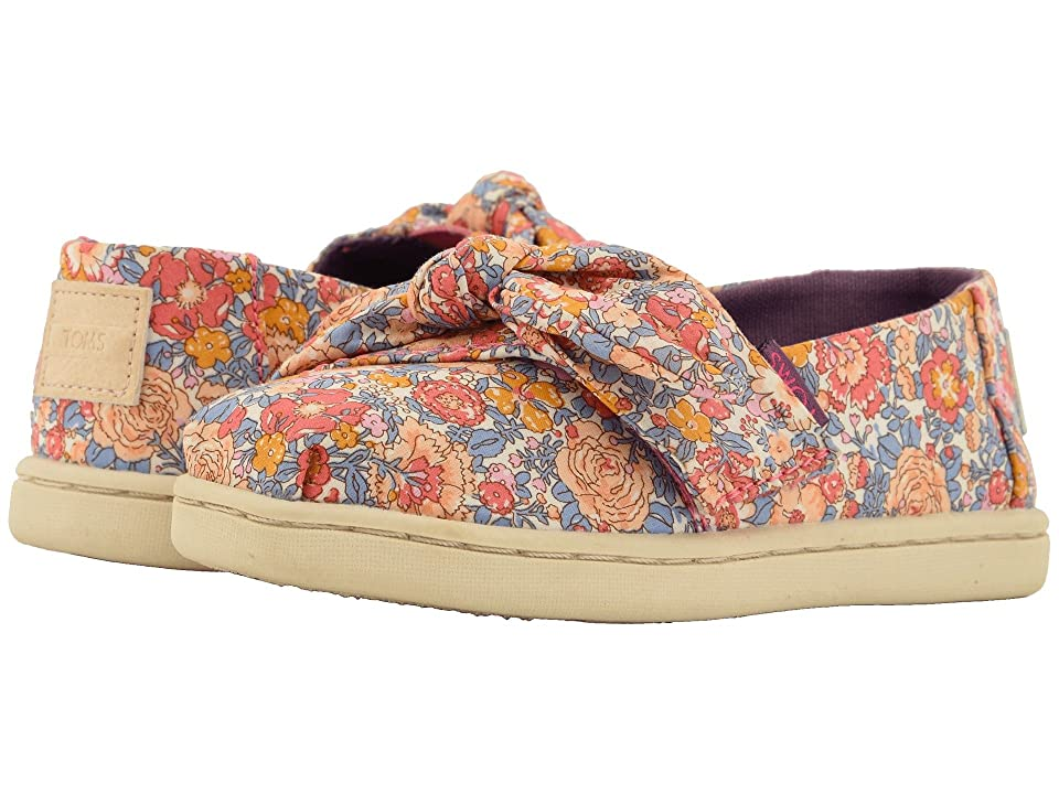 TOMS Kids Alpargata (Infant/Toddler/Little Kid) (Pink Multi Liberty Amelie Print) Girl