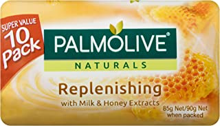 Palmolive Naturals Bar Soap Replenishing Milk and Honey, 10 x 90g