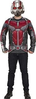 Men's Marvel: Avengers 4 Men's Ant-Man Costume Top and Mask Adult Costume