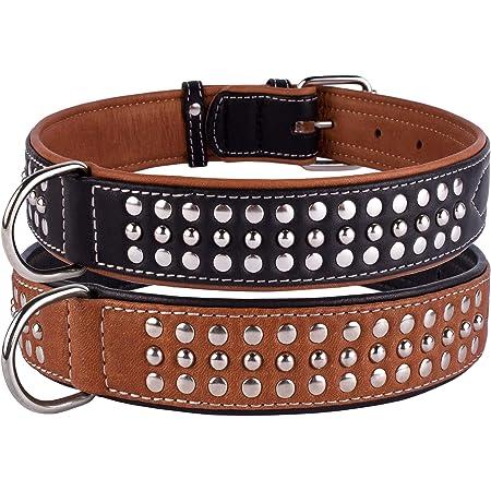 Crystal Dog Collar 1.5 inch Sturdy Leather Collar Pink Leather Collar Crystals Studded Leather Collar Bling dog Collar Leather Collar