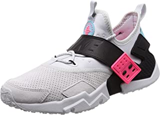 Nike Air Huarache Drift Premium, Pure/Black-Racer Pink, Size 12.0