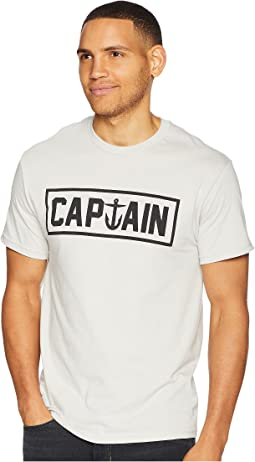 Captain Fin Naval Captain Tee