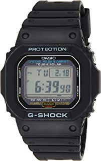 Casio G-Shock Men's Grey Dial Resin Band Watch - G-5600E-1DR
