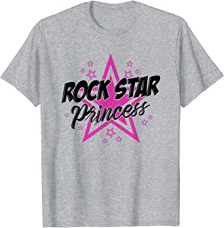 Cute Rockstar Princess T-shirt Gift Music Sassy Cool Girl