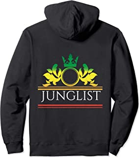 Junglist Massive Drum and Bass Raving DnB Pullover Hoodie