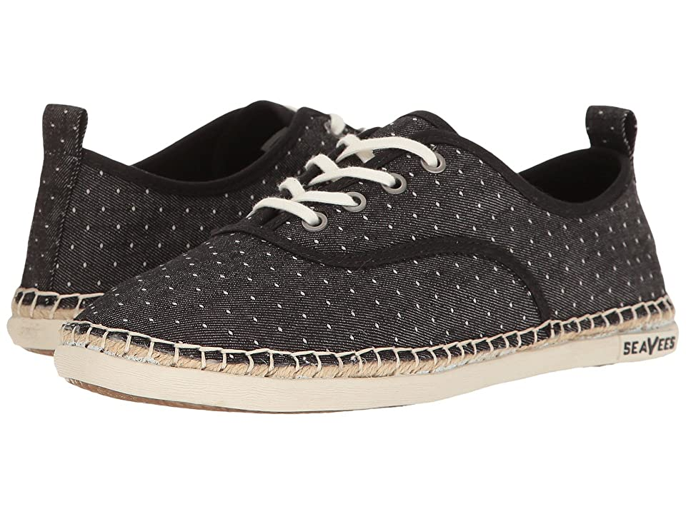 SeaVees 07/60 Sorrento Sand Shoe (Black) Women