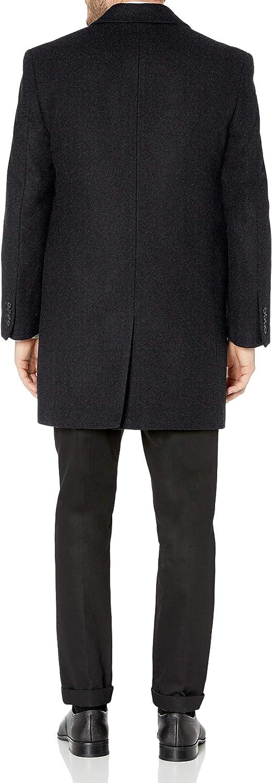 Hart Schaffner Marx mens Topper Dress Wool Top Coat Wool Coat