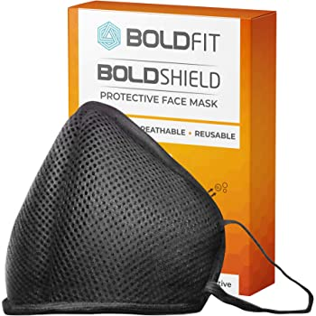 Boldfit Face Mask for Men and Women. Reusable and Washable. Easy Breathable and efficient for outdoor and Indoor use (1 MASK)
