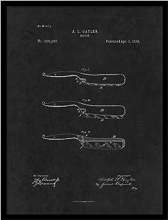 ماكينة حلاقة سبوت كلر آرت PATENT150015BK-79BK 1888، مقاس 17.78 × 22.86 سم