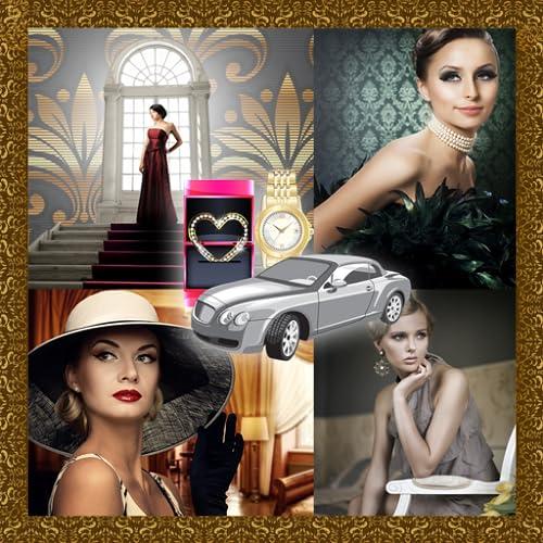 Collage de fotos de lujo