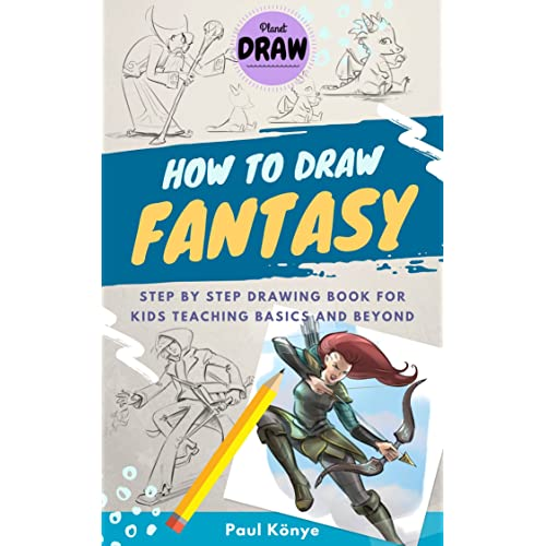 How To Draw Fantasy Step By Step Drawing Book For Kids Teaching