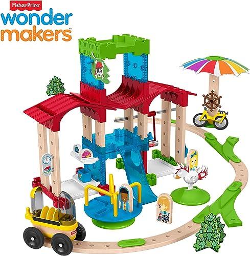 salida para la venta Fisher-Price Wonder Makers Mini escuela, juguetes construcción construcción construcción Niños +3 años (Mattel GFP82)  tienda en linea
