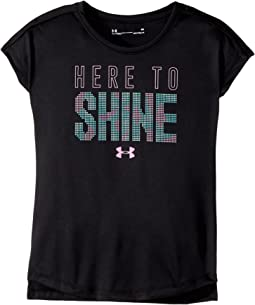 Under Armour Kids - Here To Shine Short Sleeve (Little Kids)
