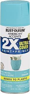 Rust-Oleum 327939 American Accents Spray Paint, Satin Seaside