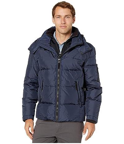 S13 Matte Downhill Puffer Jacket (Navy) Men