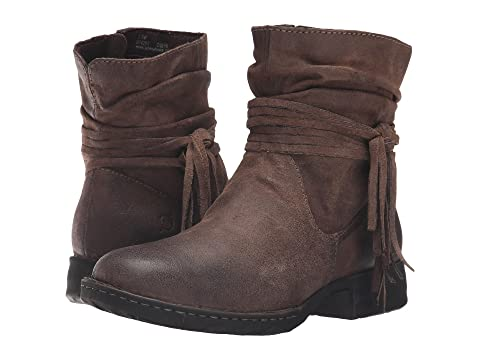 Womens Boots born tobacco cross distressed fh4x52r3