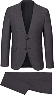 Hugo Boss Johnstons4//Lenon1 Mens 100/% Wool Plaid Two Button Suit Sz US 42R IT 52R