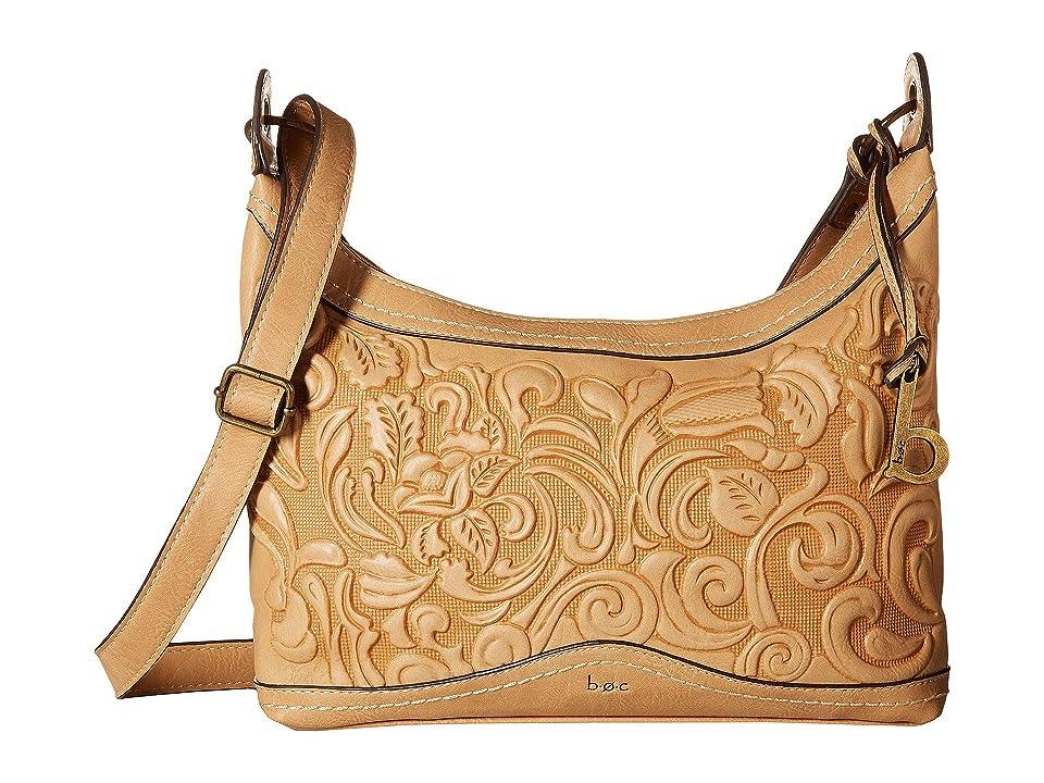 b.o.c. Botanica Crossbody (Luggage) Cross Body Handbags, Brown