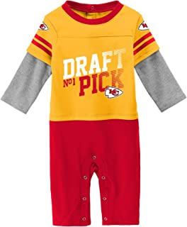 Outerstuff NFL Unisex-Baby Newborn & Infant Draft Pick Long Sleeve Coverall