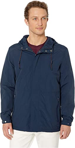 Barnaby Solid Four-Pocket Hooded Jacket