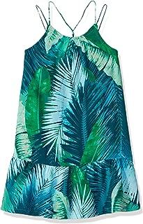 Girls' Sleeveless Casual Woven Dress