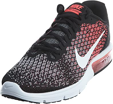 Amazon.com   Nike Womens Air Max Sequent 2 Running Shoes Black ...