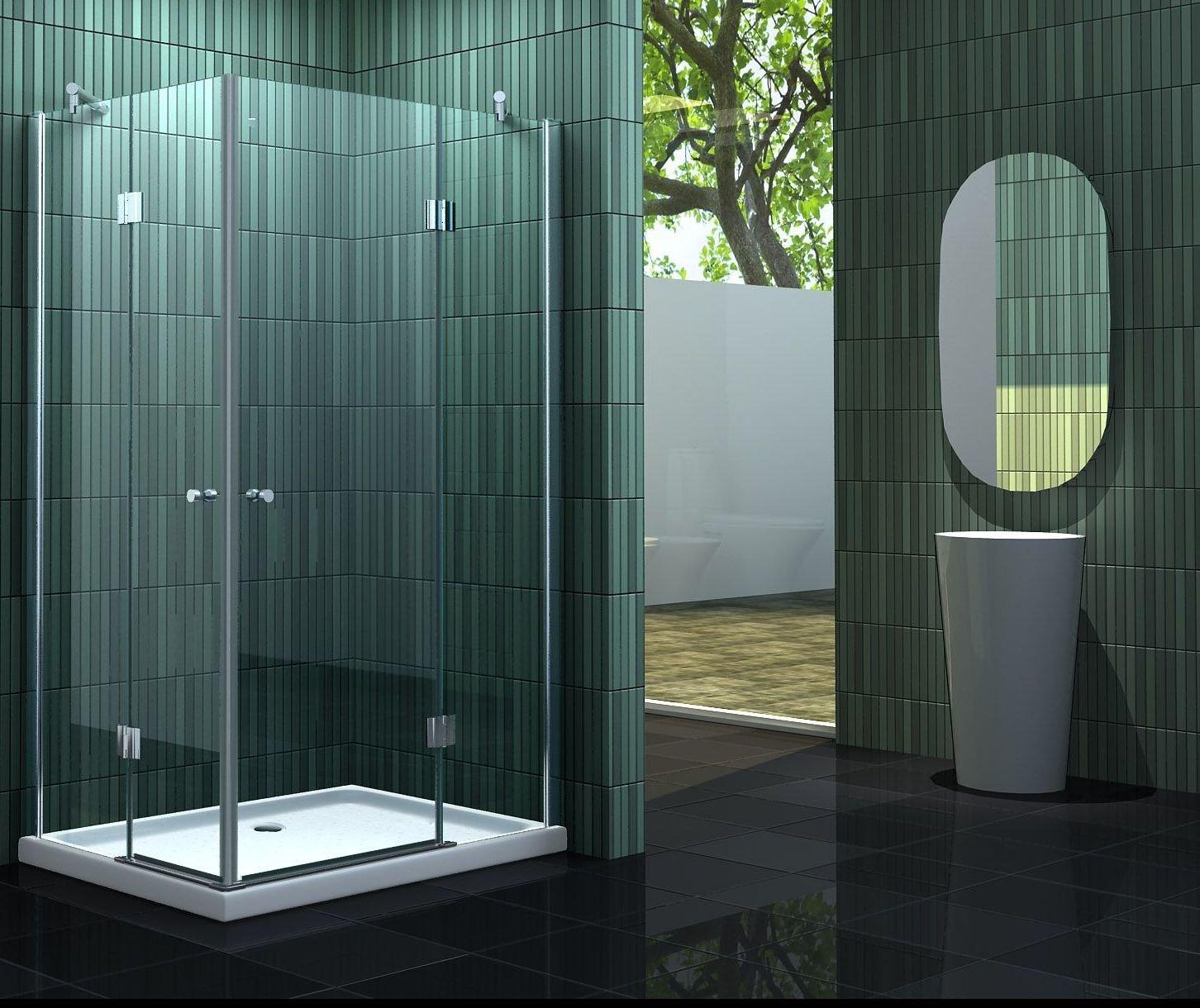 Mampara de ducha 120 x 80 x 195 cm sin NEOTEC: Amazon.es: Bricolaje y herramientas