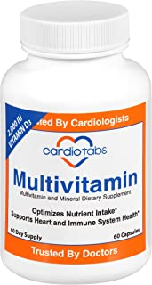 Multivitamin - 60 Day Supply - Packed with Natural antioxidants and 2000 IU Vitamin D3
