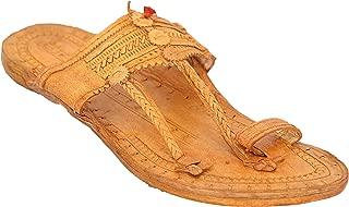 AAUTHORITY Mens Senapati Handmade Kolhapuri Slipon