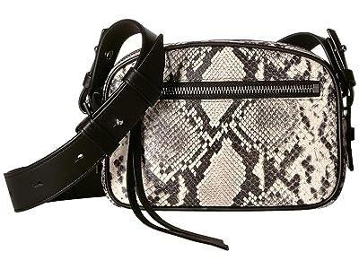 AllSaints Sliver Bumbag Crossbody (Natural) Handbags