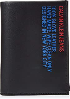 Calvin Klein Wallet for Men-Black (Black)