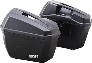 GIVI (ジビ) サイドケース 22L 左右セット 未塗装ブラック E22シリーズ E22N 90668