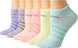 Superlite 6-Pack No Show Socks (Toddler/Little Kid/Big Kid/Adult)
