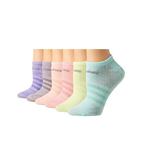 b723c3fc8a53 adidas Kids Superlite 6-Pack No Show Socks (Toddler Little Kid Big ...