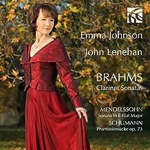 Brahms, Mendelssohn & Schumann: Clarinet Sonatas