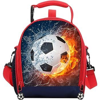 CF71 Bradford School Lunch Bag Boys Football Isotherme Glacière Personnalisé