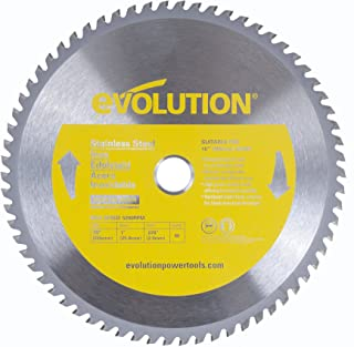 Evolution Power Tools 10BLADESSN Stainless Steel Cutting Saw Blade, 10-Inch x 66-Tooth