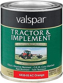 tractor orange paint