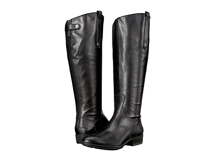 buy online buy popular best quality Sam Edelman Penny 2 Wide Calf Leather Riding Boot | Zappos.com