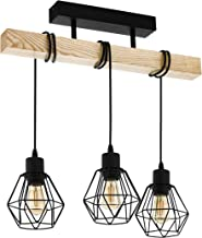 Lampa sufitowa EGLO TOWNSHEND 5, 3-ogniskowa lampa sufitowa vintage w stylu industrialnym, lampa wisząca retro, wykonana z...