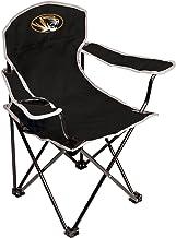 كرسي أطفال قابل للطي يحمل شعار فريق ميسوري تايجرز الرابطة الوطنية لرياضة الجامعات بالولايات المتحدة - أسود