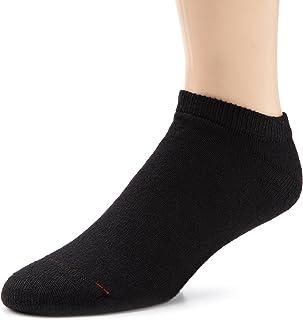 Hanes Ultimate Men's 6-Pack FreshIQ Cushion No-show Socks, Black, Sock Size: 10-13/Shoe Size:9-11