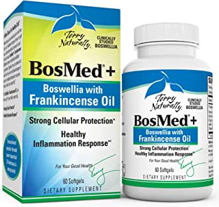 Terry Naturally BosMed + Boswellia with Frankincense Oil - 60 Softgels - Healthy Inflammation Support Supplement, Promotes...