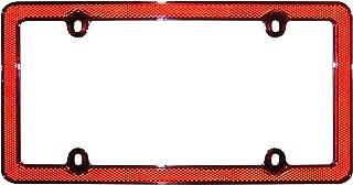 Cruiser Accessories 30436 Red/Chrome Reflector II