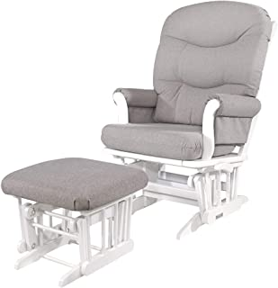 Dutailier Adele 0367 Glider Multiposition-Lock Recline with Ottoman