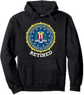 FBI RETIRED SHIELD HOODIE